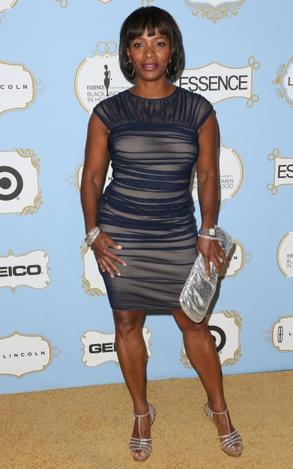 Vanessa Bell Calloway fine as hell. Happy Birthday.