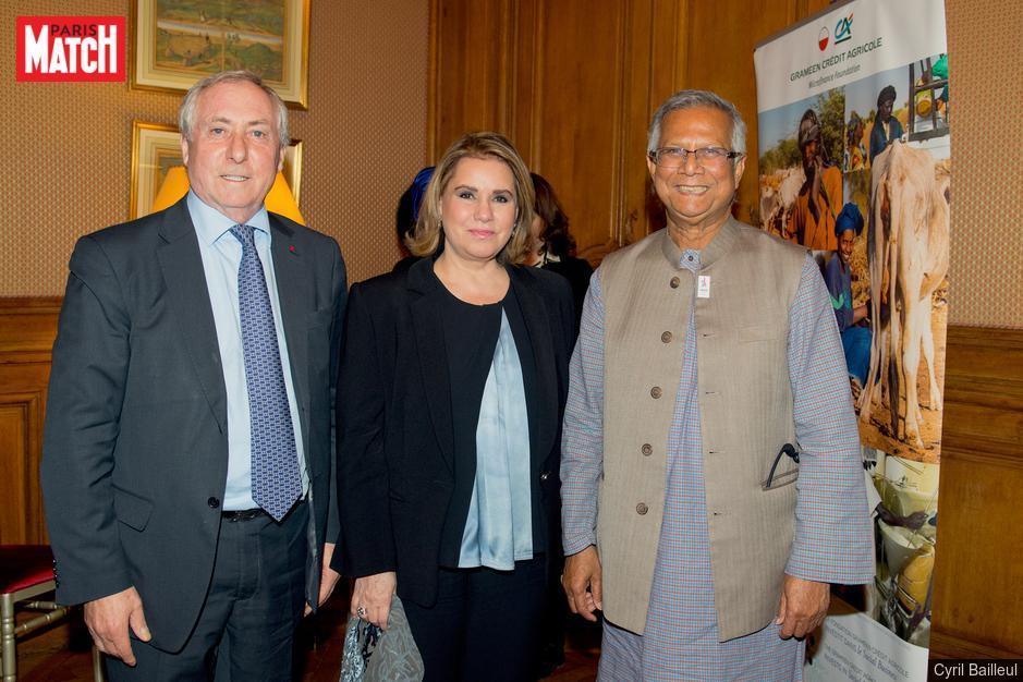 La Grande-Duchesse de Luxembourg et le Pr Yunus veulent lancer le micro-crédit à Cuba