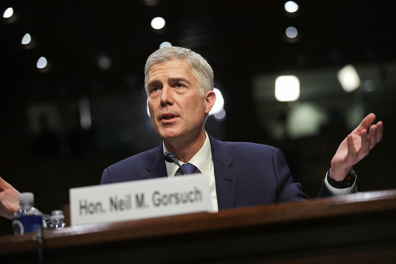 Senate Republicans are beyond outraged that anyone would dare question Neil Gorsuch: https://t.co/eXQTWpL47M https://t.co/OED5eaBQBT