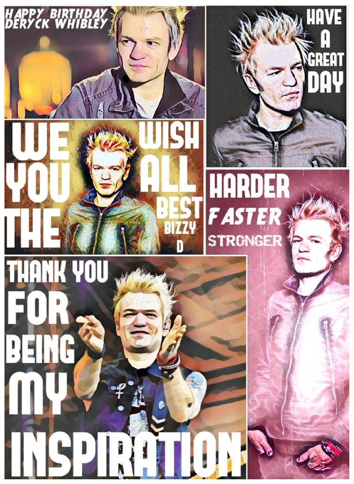 Happy Birthday to the one and only deryck whibley have a great day