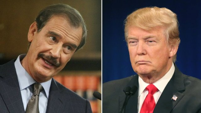 Vicente Fox to Trump: 'You'd be fired' on TV for such low ratings https://t.co/CZjoSils9k https://t.co/4XVgZftYf9