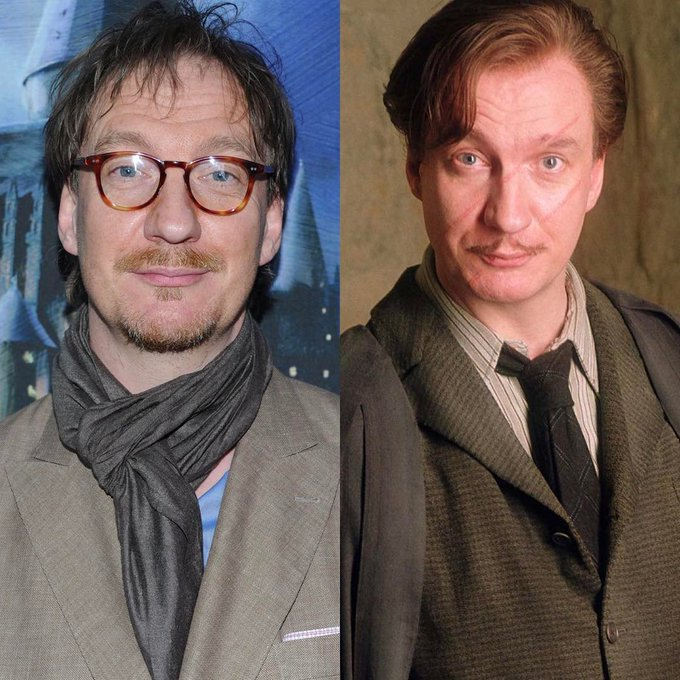 Happy 54th Birthday David Thewlis  (Remus Lupin of Harry Potter )