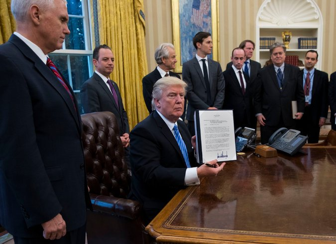Why only white men in photo whenever Trump moves to limit rights of women? Deliberate show of white male supremacy? https://t.co/5A0rQt46Ue