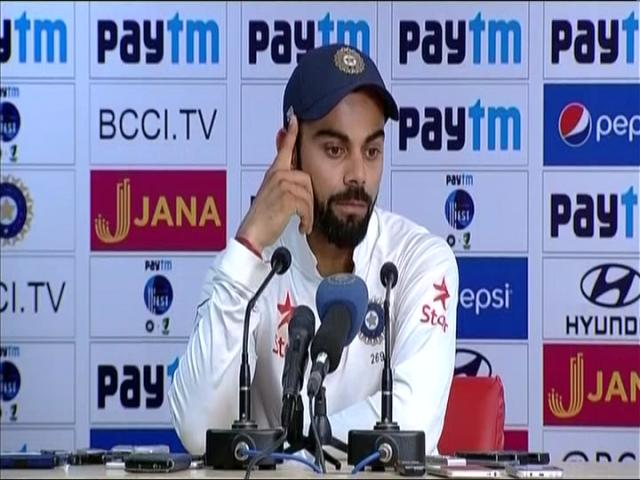 You need courage to win Test matches before you start the game @imVkohli