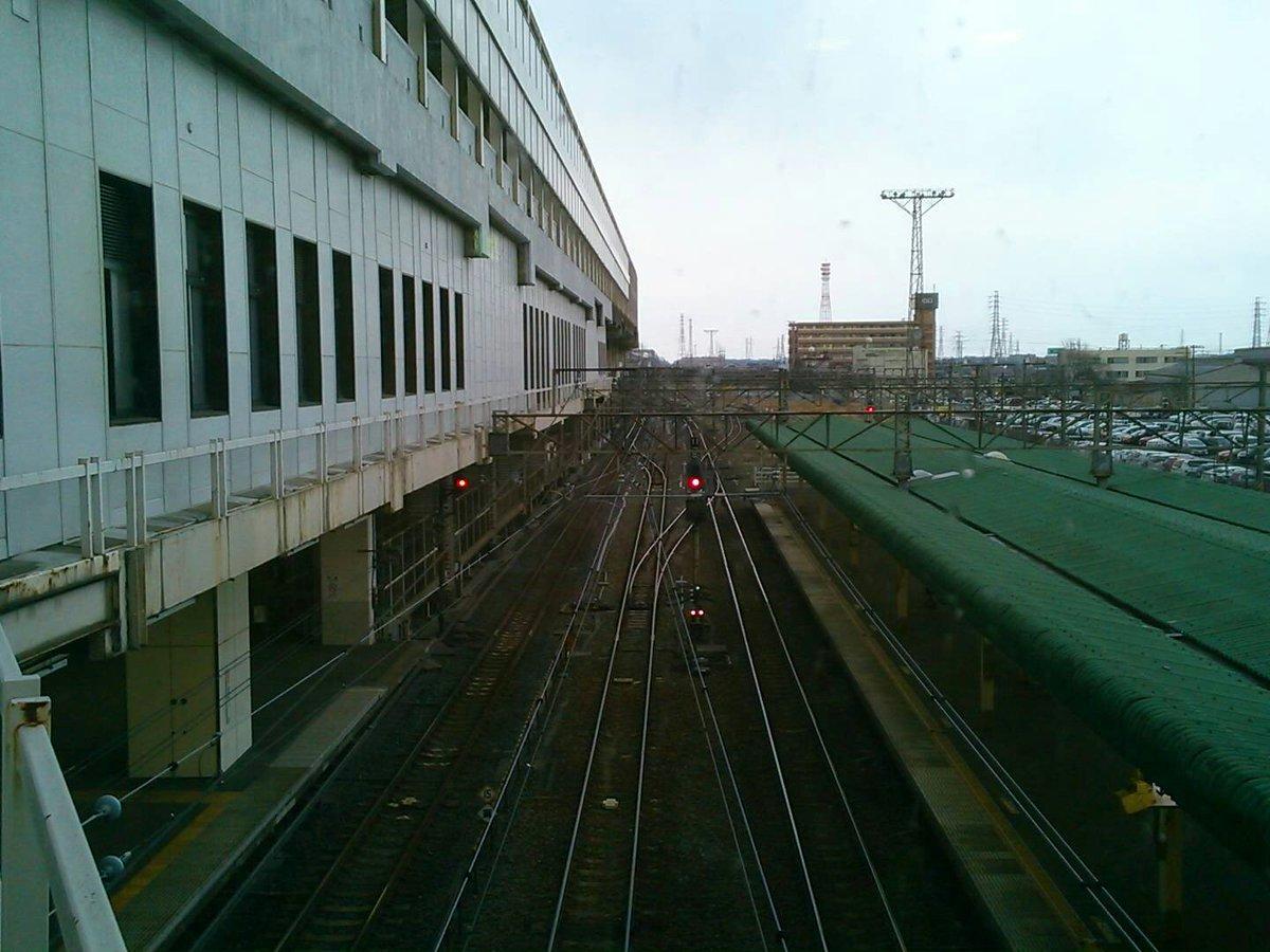 秒速5センチメートルのワンシーンだけどこのアングルだろうなあ駅の中は数年前の改修工事で作中の小山駅とはだいぶ変わってしま