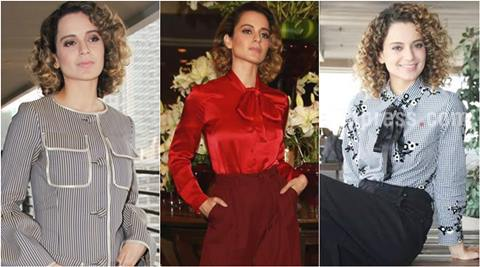Happy Kangana Ranaut: look best looks 2017: