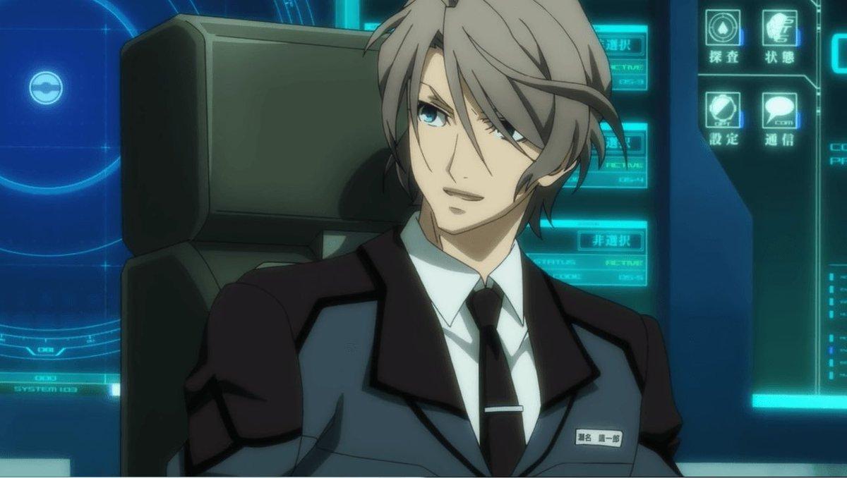一期だと元自衛隊隊員のエリート刑事だった櫻井孝宏が、二期だと清掃会社の社長になっているアニメがアクティヴレイドですよ!