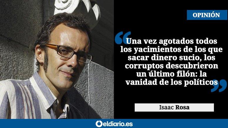 OPINIÓN | Corrupción para comprar reputación, una genialidad Por @_isaacrosa