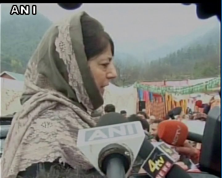 Nothing will be achieved through violence, only peace and talks can offer a solution J&K CM Mehbooba Mufti