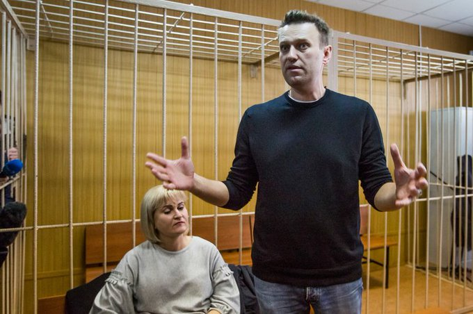 Navalny faces 15 days in prison, but after anti-corruption protests across Russia, he's a lot less scared than Putin https://t.co/S6BDAGzo1o