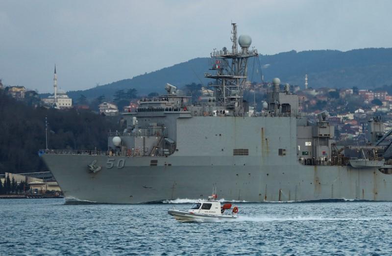 Russia calls U.S. Black Sea naval patrols potential threat RIA