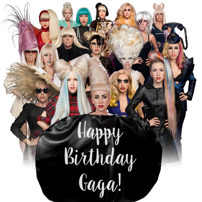 Happy birthday Lady Gaga!