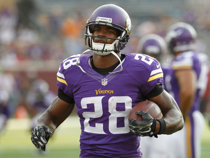 Happy Birthday to Adrian Peterson, who turns 32 today!