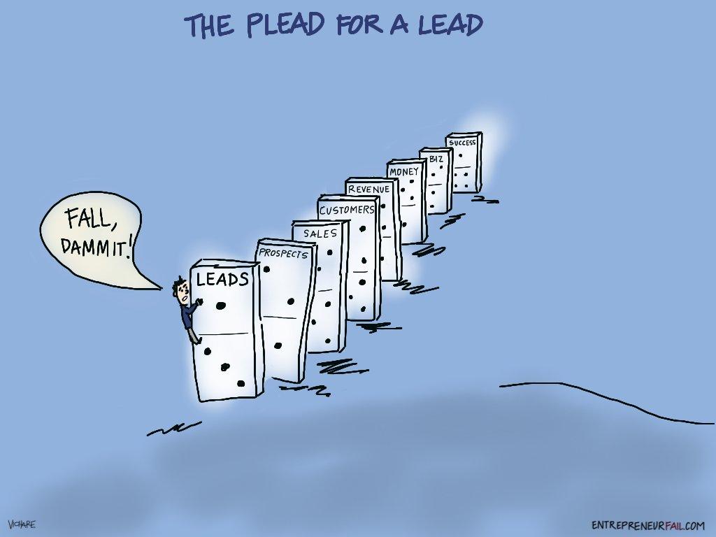 (Comic) Plead for a Lead: Sales Don't Come Easy https://t.co/ouSdl2NFqD