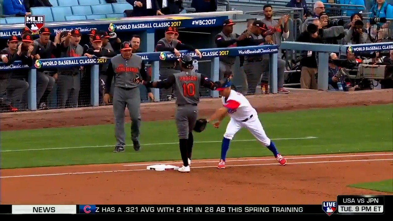 You never know what you'll see in the #WBC2017!  Visit https://t.co/tmrbR6Aud6 for channel info. https://t.co/XkwkAFvyFt