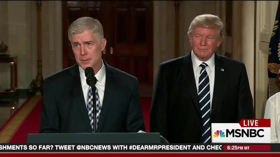Durbin: Gorsuch nomination is part of Republican strategy https://t.co/6ETaiWCqd3 https://t.co/bMJAcoG1iF