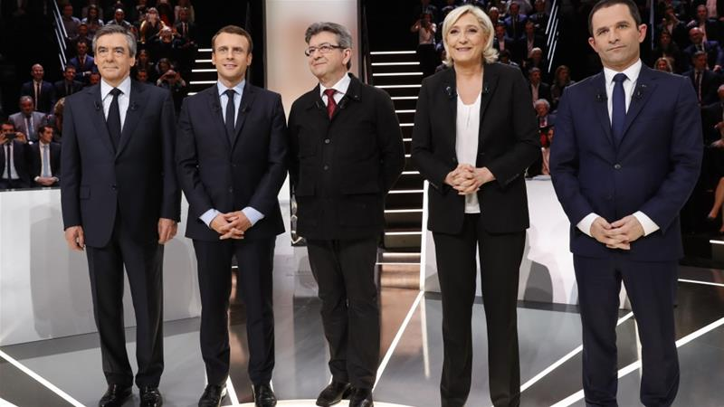 French elections: Frontrunners clash in debate focusing on immigration and economy