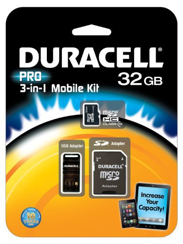 #free #digital #win #usb #music #giveaway #np Duracell 32GB Micro SD Card U1 3-in-1 Memory Kit with SD Card & USB Adapter [MicroSD for Samsung Galaxy Note Edge LG Moto Sony Fire Android Windows Smartphone Tablet Camera Dash Cam Drone TV PC Mac] #rt