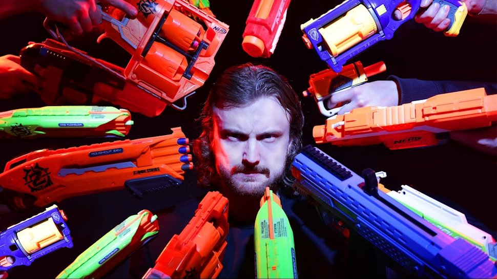 Nerf #JohnWick by @CorridorDigital makes us want to Nerf-ify every action movie: https://t.co/dhqXuCDjW2 https://t.co/ToymWcfv2J