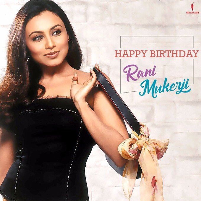 Here\s wishing the graceful and talented Rani Mukerji, a very happy birthday!