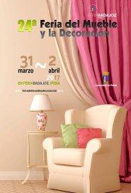 Del 31 de marzo al 2 de abril en @feriabadajoz 24ª Feria del Mueble y la Decoración  https://t.co/6t4aK1vILh https://t.co/GhOt68F2Nq