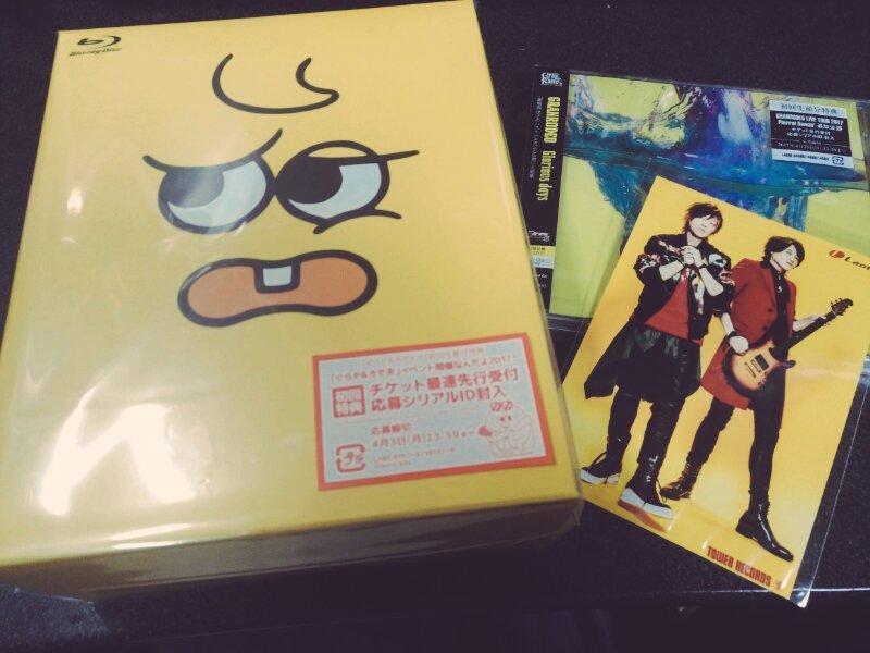 GRANRODEOニューシングル「Glorious days」初回盤と「ぐらP & ろで夫」Blu-rayが届きましたよ