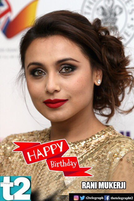 Black to Mardaani, she\s brought a special touch to every role. t2 wishes a very happy birthday to Rani Mukerji!