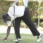 WINNING TOUCH: Golfer sinks four rare birdies for victory at Nyali course