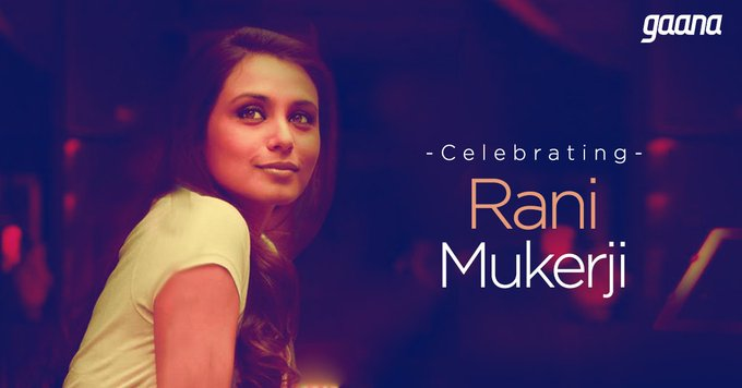 Here\s wishing the bubbly Rani Mukerji a Happy Birthday!