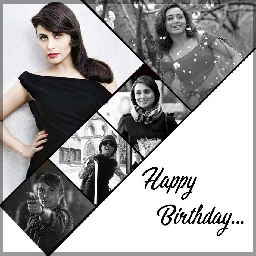 Here\s wishing Rani Mukerji a very Happy Birthday!