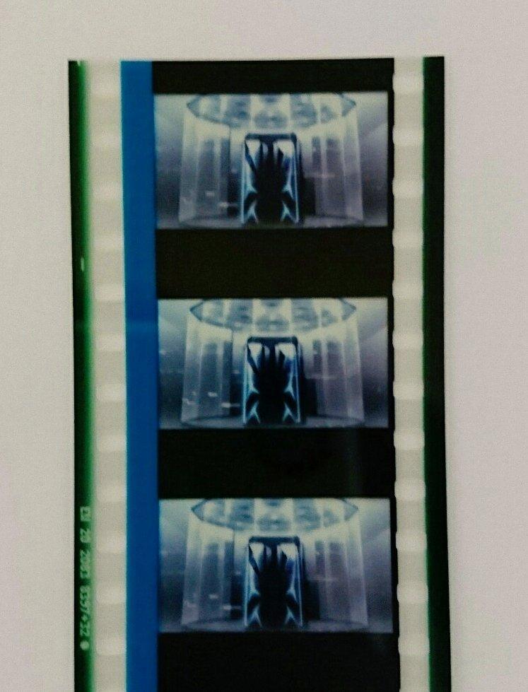 SAO4DX3回目観てきました 特典のフィルムはIBMがモデルのサーバーでした(^o^) なかなかおもしろカッコいいフィ