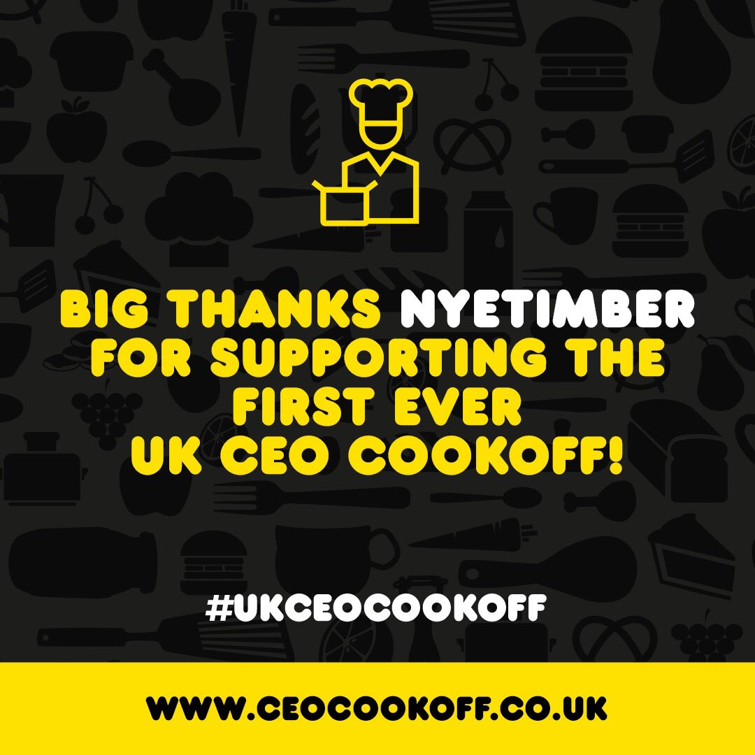 Big thanks to @Nyetimber for your support for the first ever #UKCEOCookOff! https://t.co/Z3Z62Mykoc https://t.co/OcTHozdiby