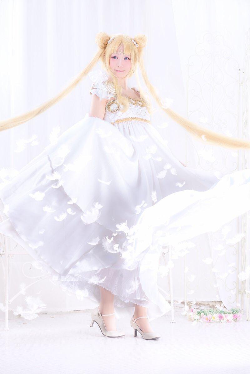 美少女戦士セーラームーン*・.。*プリンセス セレニティ*・.。*月の光は   愛のメッセージ🌙.:*:。∞。撮影&レタ