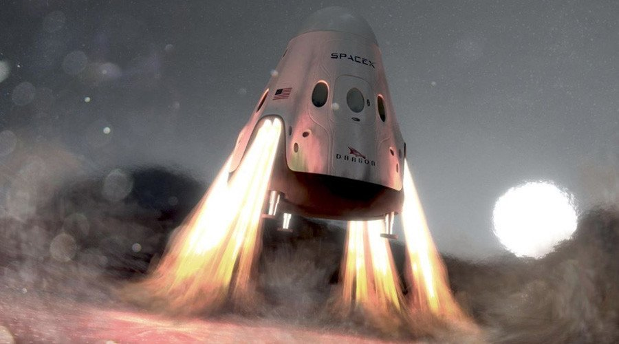 SpaceX & NASA scope out landing sites for manned mission to Mars