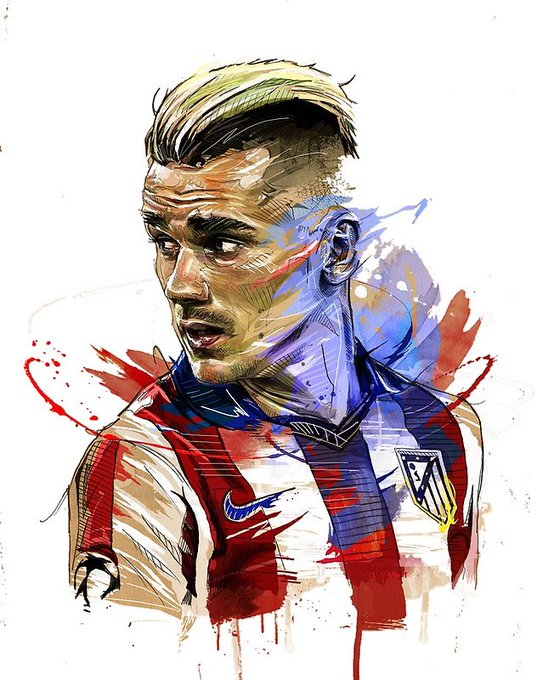 Happy Birthday 26th Antoine Griezmann Atletico Madrid. France
