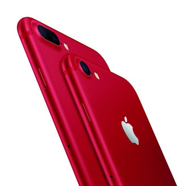 Apple lancera les iPhone 7 et 7Plus couleur rouge le 24 mars https://t.co/ycR8LKCKdO