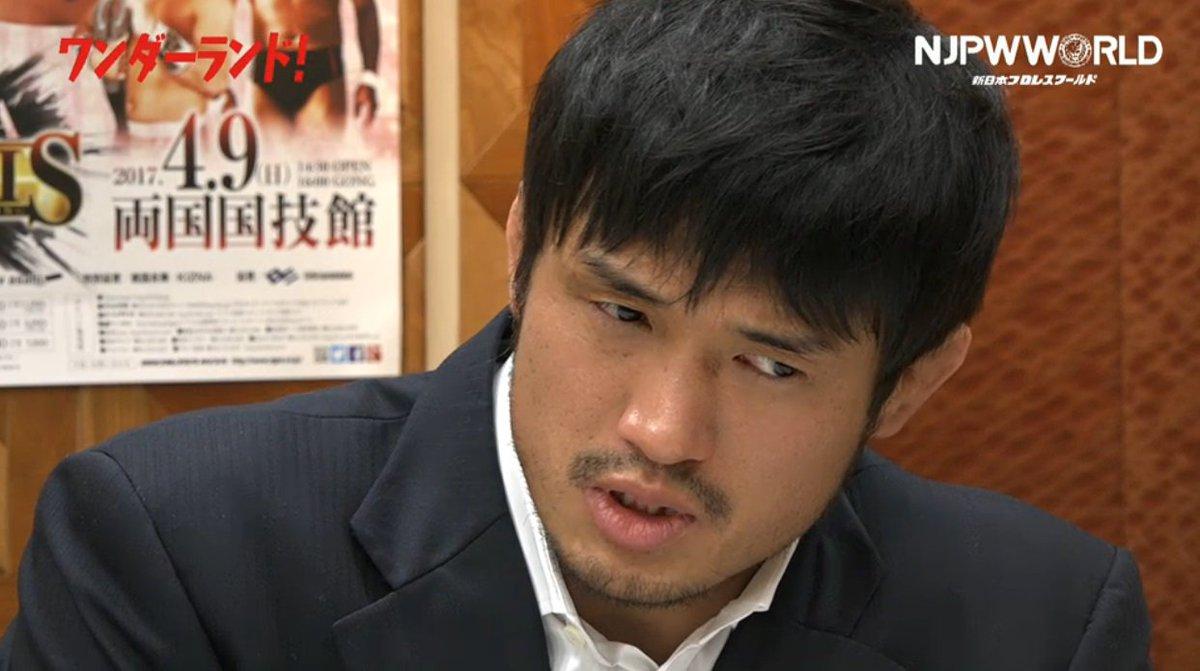 最近のキメセリフ「男の根性見せてやる」について柴田勝頼が明かす後楽園でモニターを見てたら「男の根性見せてやれ」と(タイガ