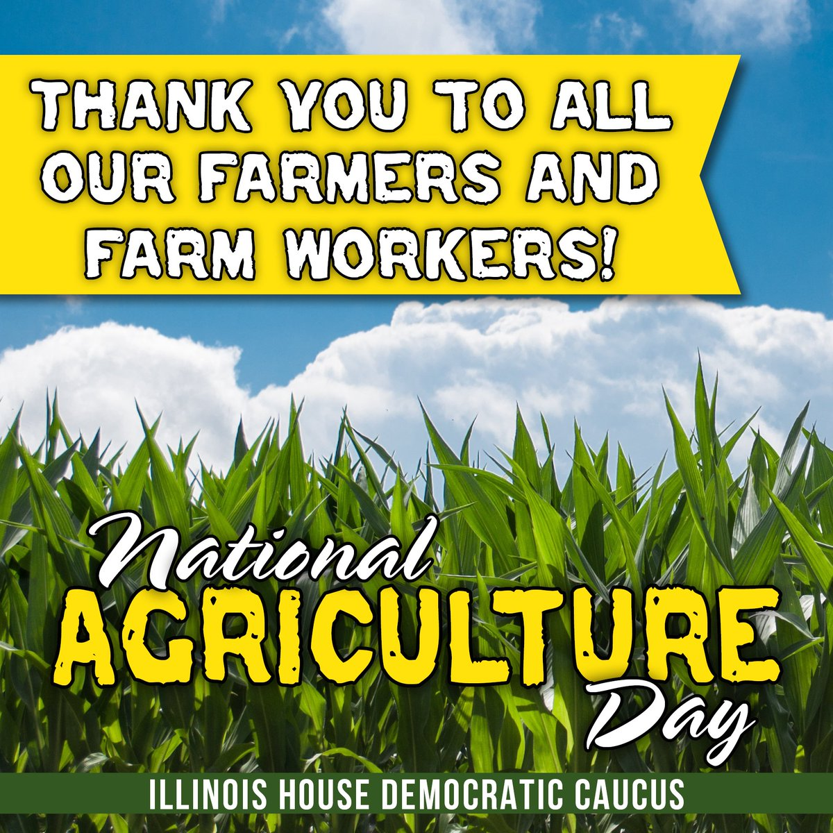 test Twitter Media - Happy #NationalAgDay! Thank you to all of our farmers, farm workers and farming communities for all that you do! https://t.co/VGHrS8mYRH