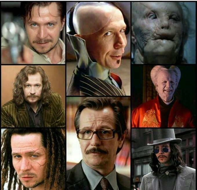 Happy Birthday Gary Oldman, mi actor favorito que interpretó a mi personaje favorito.