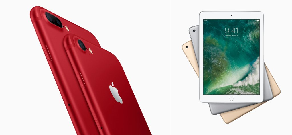 Apple Introduces A Red iPhone 7 Variant And The Cheapest 9.7″ iPad Yet