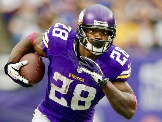 RB Adrian Peterson turns 32 today but he is still unsigned and searching for a new team. Happy Birthday AP!