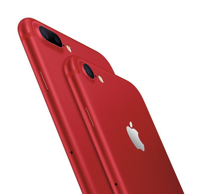 真っ赤なiPhone 7発売決定 - 3月25日より予約開始 https://t.co/S9lJISXqap