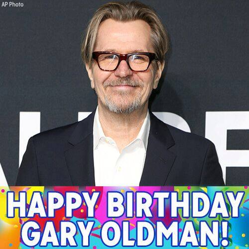 Happy Birthday to Oscar-nominated actor Gary Oldman!