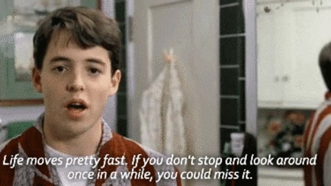Happy 55th birthday, Matthew Broderick. Wonder if he ever amounted to anything.