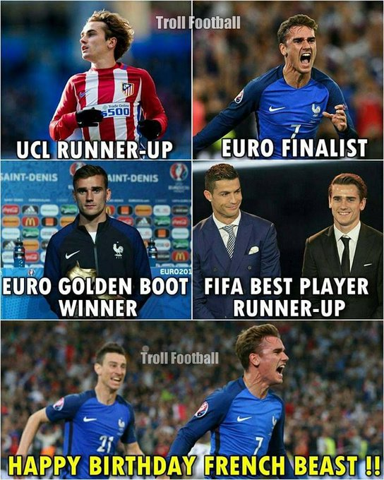 Happy Birthday Antoine Griezmann