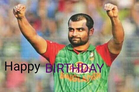 Happy birthday, Tamim Iqbal Khan