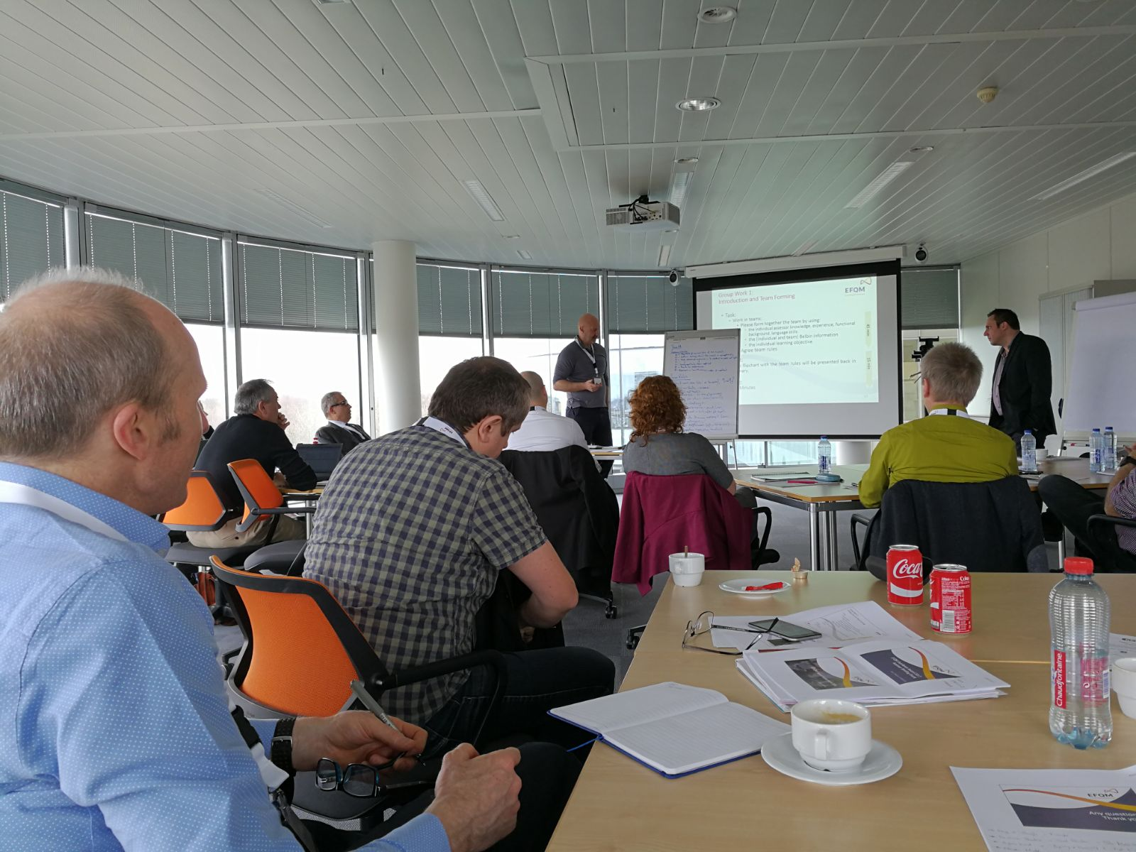 Nuestro Director Ejecutivo @Pau_Negre asiste esta semana en #bruselas a la reunión de evaluadores para el #efqmaward2017 @EFQM #excellence https://t.co/Mklvic9e27