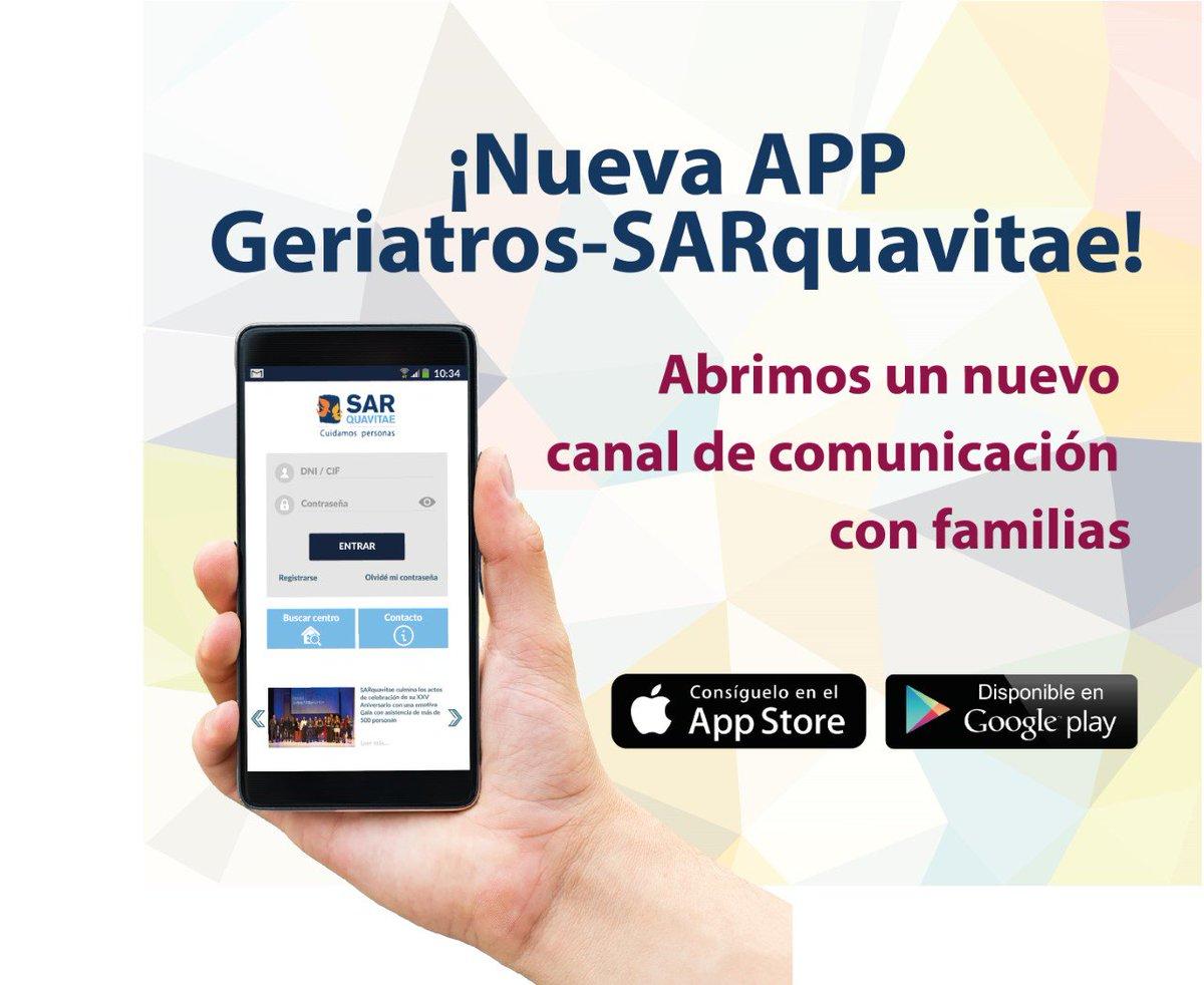 test Twitter Media - Nueva App  de @Geriatros @SARquavitae con las familias. ¡¡Más cerca de nuestros mayores!! #calidad #dependencia https://t.co/eoAHbEn6Qy … https://t.co/bQqNJTYmAe