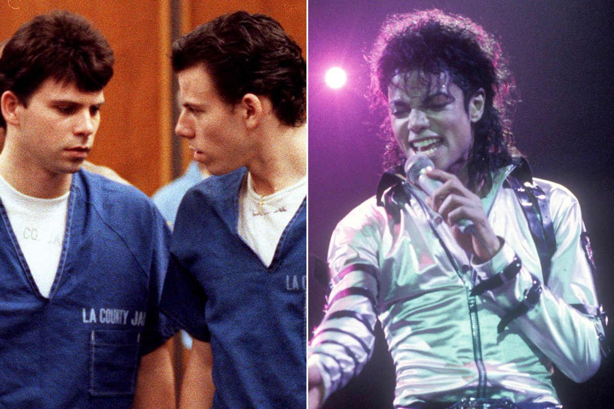 .@LifetimeTV has announced air dates for its Michael Jackson and Menendez Brothers films.