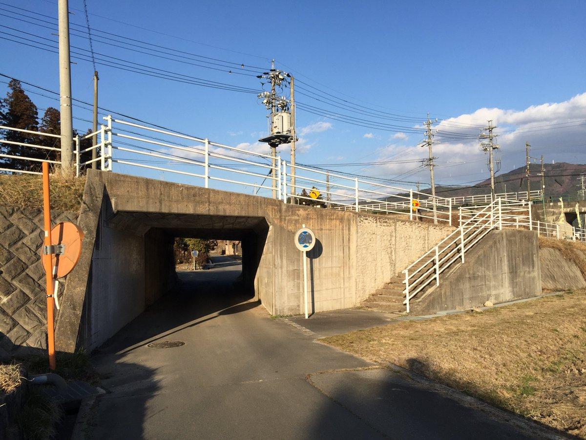 さらに飯田線田切駅あたりまで南下します。巡礼その5『JR田切駅周辺道路下』咲-saki-第21局表紙扉絵ここは確かアニメ